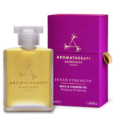 aromatherapy associates inner strength bath u0026 shower oil 55ml