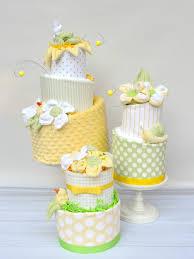diaper cake decor diaper cake centerpieces neutral baby shower