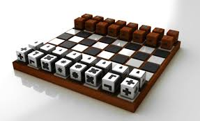 chess set designs play chess with your eyes closed yanko design