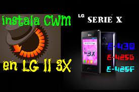 cwm apk instala cwm en lg ii 3x y serie ll o x