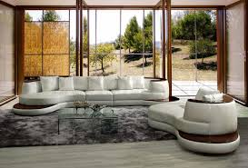 decorating awesome sectional sofa in white by vig furniture on