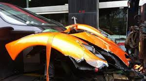 lexus lc 500 hong kong pagani zonda f wrecked in hong kong motor1 com photos