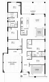 4 bedroom house plans 1 story 47 lovely images of dream home floor plans house and floor plan
