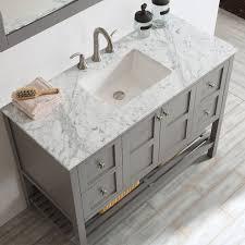 Bathroom Sink And Mirror Beachcrest Home Caldwell 48 Single Bathroom Vanity Set With