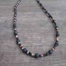 natural bead necklace images Small natural bead necklace sleep deprived designs jpg