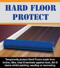 hardwood floor protection sticky products