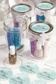 bridal party favors pedicure in a jar bridal shower favors weddings ideas from evermine