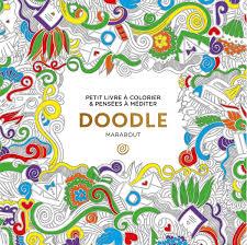 Petit livre à colorier et pensées à méditer doodle  la Ruche des
