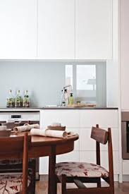 Grey Glass Backsplash by Beautiful Affordable Backsplashes Made With Simple Sheet Materials