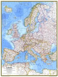 Un Map 1977 Europe Map Historical Maps