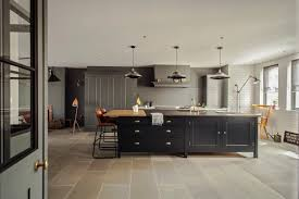 the greenwich park kitchen with tall spitalfields cabinetry by