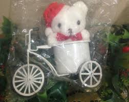 vintage tricycle ornament etsy