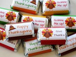 thanksgiving table favors decorating of
