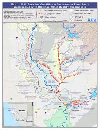 Map Of Rivers Feather And Sacramento Rivers Watersheds San Francisco Bay Delta