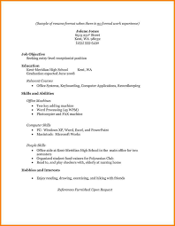 Caregiver Resume Samples Elderly by Simple Job Resume Format First Time Resume Template St Time