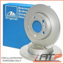 mercedes c class brake discs 2x ate brake disc rear solid ø278 mercedes c class w s 202 w cl