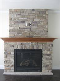 interiors awesome stacked stone for fireplace fireplace stone