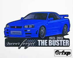 nissan skyline r34 paul walker fast and furious stickers u2013 tagged