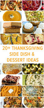 thanksgiving traditional thanksgiving food side dishes for