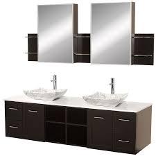 Bathroom Vanity Medicine Cabinet Wyndham Collection Avara 72 Bathroom Vanity Set With