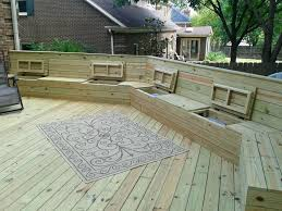 outdoor deck storage bench all weather outdoor gallon resin