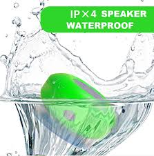 Bluetooth Speakers For Bathroom Mini Portable Waterproof Wireless Bluetooth Shower Speakers Toilet