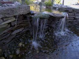 Waterfall In Backyard 10 Things You Must Know About Ponds Diy