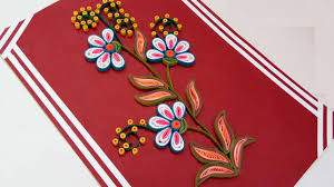 paper quilling how to make beautiful quilling flowers design