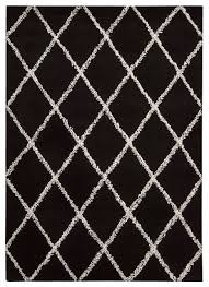 Modern Black Rugs Wonderful Manustrit Modern Black White Area Rug Nani Marquina