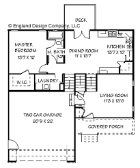split level house plan www englandhouseplans plans planimages flr lrs