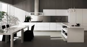 cuisine blanche grise cuisine blanc mur gris fonce idées décoration intérieure farik us