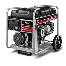 shop briggs u0026 stratton 5500 running watt portable generator with