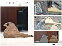 diy door stoppers u0026 how to make a doorstop using fabric scraps