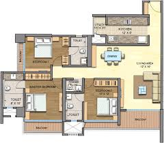 1110 sq ft 2 bhk 2t apartment for sale in runwal realty greens