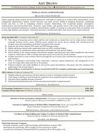 resume summary of qualifications for cmaa medical practice administrator resume 72 images healthcare