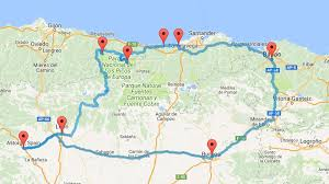 Northern Spain Map by The Perfect Northern Spain Road Trip Itinerary Mowgli Adventures