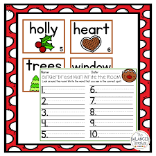 gingerbread man writing paper november 2016 the balanced teacher the students can also practice counting from 1 20 by writing the room and counting these fun images related to the stories