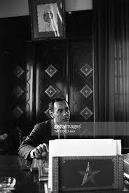 stock bureau maroc meeting with king hassan ii in morocco pictures getty images