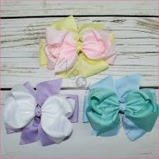 easter hair bows easter bargain bows