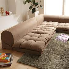 furniture living room design with white fluffy fur rug also l
