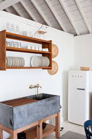 unfitted kitchen furniture plate rack this look a scandi style kitchen in a canadian