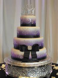 wedding cake decorating classes london bling wedding cake with purple wedding pinterest bling
