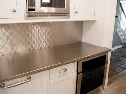 kitchen metal backsplash ideas glass and stainless steel