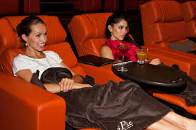 movie theaters with reclining chairs blankets u0026 a waiter