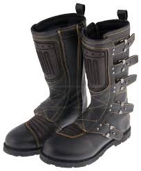 black leather motorcycle boots icon 1000 elsinore boots revzilla