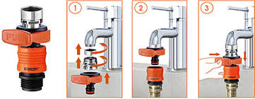 Kitchen Faucet Hose Adapter by Wondrous Faucet Adapter For Garden Hose Modern Design Faucet Hose