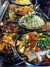 plats cuisiné plats cuisines paella moules cuisinees poissonnerie de l