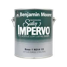 benjamin moore impervo waterborne base 1 acrylic low luster