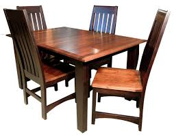 Dining Room Chairs Chicago Giant Shaker Leg Dining Room Set Amish Furniture Gallery