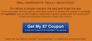 printable nature s recipe dog food coupons nature s recipe dog food coupons and reviews